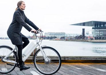 Futuristisk cykel til den urbane livsstil