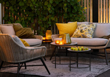 Eksklusive loungemøbler & køkkener rykker udendørs
