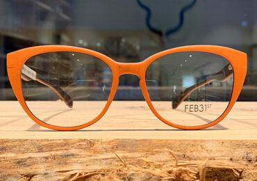 Italienske træbriller med designfrihed