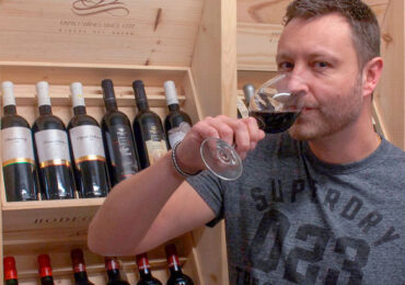 Bankmanden blev vinhandler